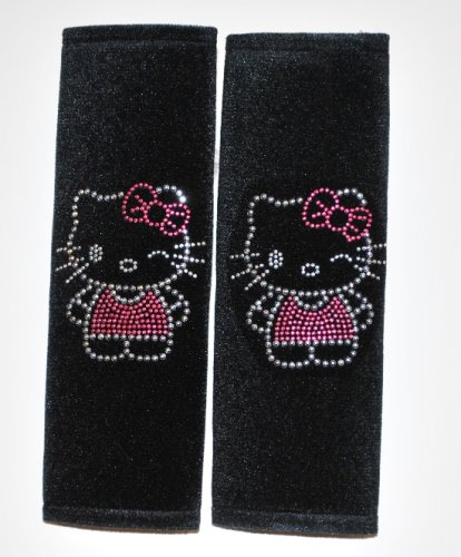 Hello Kitty Shoulder Pad With Rhinstone