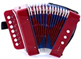 D\'Luca G105-RD Child Button Accordion Red