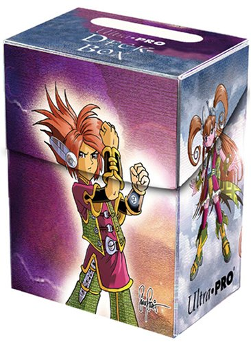 Ultra-Pro Skylar & Skyla Deck Box for Magic/MTG/Yu-Gi-Oh/Pokemon Cards