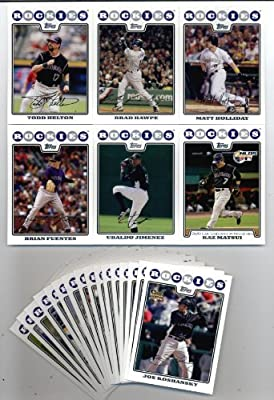 2008 Topps Colorado Rockies Team Set -22 cards Todd Helton,Tulowitzki,Holliday