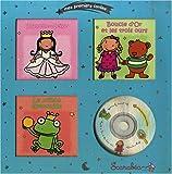 echange, troc Scarabéa - Mes premiers contes, coffret argent : Blanche neige; Boucle d'or et les trois ours; Le prince grenouille (1CD audio)