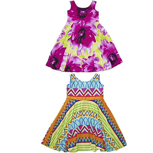 Designer Dresses For Girls Twirly Reversible Unique Pretty | Sugar Pop Mermaid