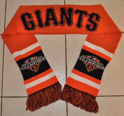 San Francisco Giants World Series Champions Scarf at Amazon.com