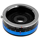 Fotodiox Lens Mount Adapter with Iris, Canon EOS lens to Fujifilm X Camera Body (X-Mount), for Fujifilm X-Pro1, X-E1