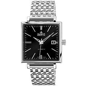 Dugena 7090322 - Reloj de pulsera hombre, acero inoxidable, color plateado