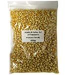 500g POPPING POPCORN KERNELS SEEDS BE...