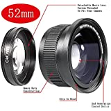 Neewer® 52MM 0.35X High Definition II Wide Angle Macro Fisheye Lens for NIKON D5300 D5200 D5100 D3300 D3200 D3000 D7100 D7000 DSLR Cameras