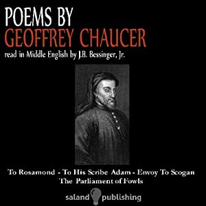 Poems By Geoffrey Chaucer Audiobook