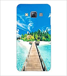 PrintDhaba Beautiful Scene D-1267 Back Case Cover for SAMSUNG GALAXY A3 (Multi-Coloured)