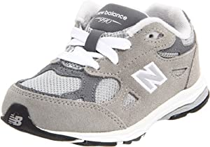 New Balance KJ990 Lace-Up Running Shoe (Infant/Toddler),Grey,8 M US Toddler