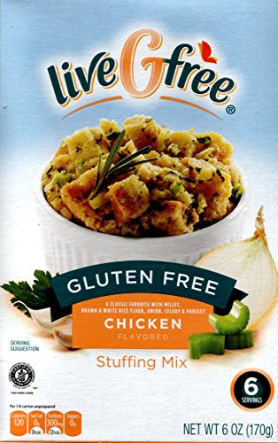 Live G Free Gluten Free Stuffing Mix, 6 Ounces (Pack of 2) (Chicken) (Chicken Stuffing compare prices)