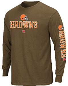 Cleveland Browns Primary Receiver II LS T Shirt by VF by VF