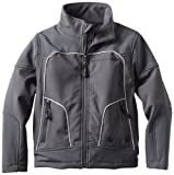 Urban Republic Little Boys' Little Boy 2177KC Soft Shell Jacket, Charcoal, 5/6