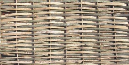 Contemporary Split Hazel Hurdles Fencing Panel 6ft x 6ft