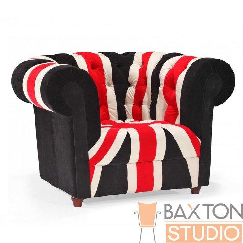 Baxton Studio Union Velveteen Modern Chesterfield Loveseat, Black