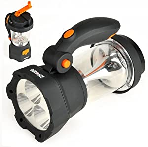 Duronic Hurricane 4 in 1 Rechargeable Wind-Up Lantern & Torch