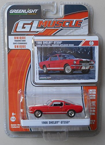 GreenLight 1966 Shelby GT350 candy apple red series 10