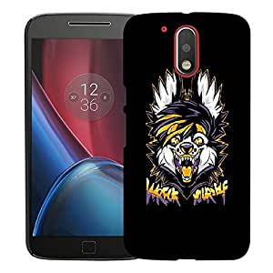 Snoogg Wreck Yourself Designer Protective Back Case Cover For MOTO G4 PLUS