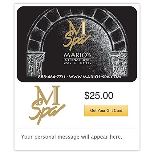 Mario's International Spa's & Hotels Gift Cards - E-mail Delivery (Hotels Gift compare prices)