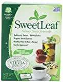SweetLeaf Sweetener (70-Count Packets), 2.5-Ounce Boxes (Pack of 4)