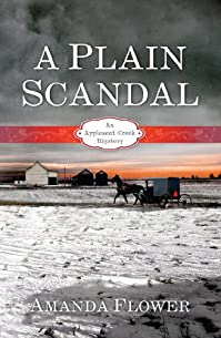A Plain Scandal by Amanda Flower ebook deal