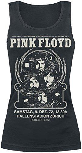 Pink Floyd Hallenstadion Zürich Top donna nero L