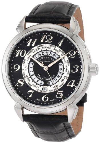 Stuhrling Original Men's 118A.SO.33151 Lifestyle Collection Time Traveler World Time Swiss Quartz
