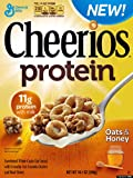 General Mills, Cheerios, Protein Cereal, Oats & Honey, 14.1oz Box (Pack of 4)