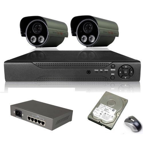 Anran 8Ch Nvr System Outdoor 2.0 Megapixel Hd Poe Onvif Ir Security Network Ip Camera back-474234