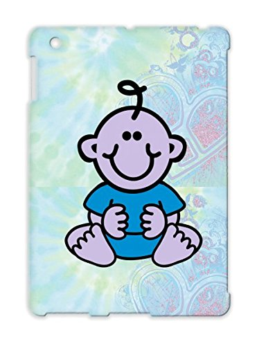 Tpu Doll Teet Baby Family Boy Child Girl Cute Funny Teeth Sweet Baby Bow Smile Pacifier Diaper Cover Case For Ipad 2 Silver front-328767