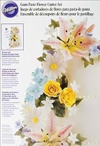 Wilton Gum Paste Flowers Set- Discontinued By Manufacturer