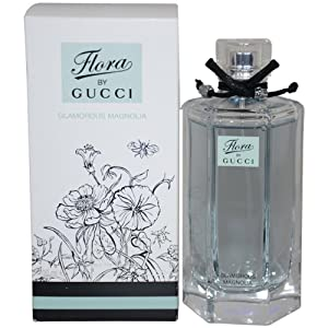 Gucci Flora Glamorous Magnolia Eau De Toilette Spray for Women, 3.4 Ounce