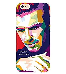 Evaluze david beckham Printed Back Cover for APPLE IPHONE 6