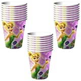 Disney Tinker Bell Sweet Treats 9 oz. Paper Cups - 24 Pieces