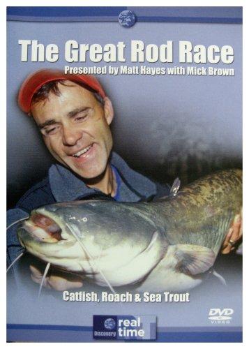Matt Hayes - Great Rod Race  - Catfish, Roach & Sea Trout [DVD]