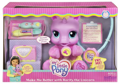 My Little Pony Make me Better with Rarity the Unicorn