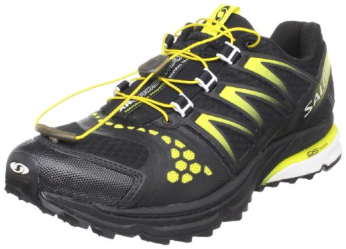 SALOMON XR Crossmax Neutral Men's Trail Running Shoes, Black/Yellow, UK11.5