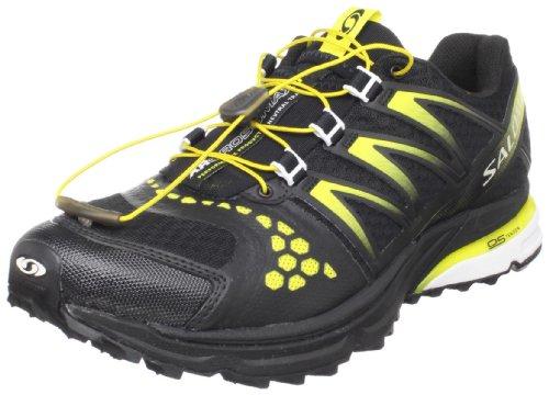 SALOMON XR Crossmax Neutral Men's Trail Running Shoes, Black/Yellow, UK11.5