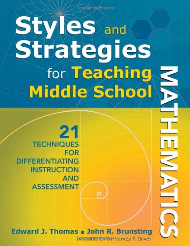 Styles and Strategies for Teaching Middle School...