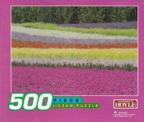 Hoyle Jigsaw Puzzle Colorful Flowers 500 Pieces