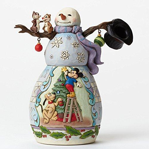 Disney Showcase Snowman - Plutos Christmas Tre