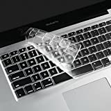 "0.1mm Ultra-thin TPU Transparent Keyboard Cover For (UK / EU Keyboard Version) Apple 13"" MacBook Pro, 13"" MacBook Pro Retina,15"" MacBook Pro, 15"" MacBook Pro Retina ,17"" MacBook Pro, 13"" MacBook Air, Apple Wireless Keyboard"