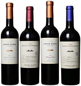 Grill Pack: Canoe Ridge Red Wines Mixed Pack, Horse Heaven Hills, 4 x 750 mL