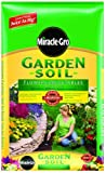 Miracle-Gro 73451300 Garden Soil For Flowers & Vegetables Mixing Bag, 1-Cubic-Foot