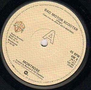 montrose montrose bad motor scooter 1979 reissue 7 inch vinyl 45 music. Black Bedroom Furniture Sets. Home Design Ideas