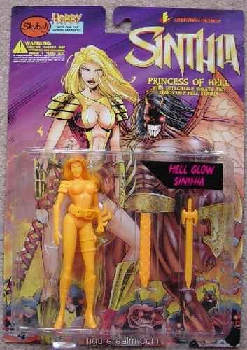 Sinthia (Hell Glow) from Sinthia - Princess of Hell Action Figure - 1