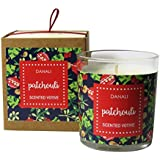 Danali New York Christmas Gift Votive Candle With Patchouli Fragrance