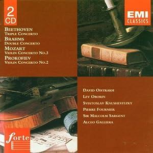 Tripel-,Doppel-+Violinkonzert