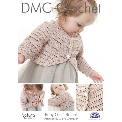 dmc-14933-l2-girls-bolero-natura-baby-babies-crochet-pattern