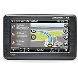 MEDION GoPal E4475 10,92 cm (4,3 Zoll) Navigationssystem (800 MHz, 4 GB, WIN CE 6.0, TMC, Bluetooth, TFT-Touchscreen, Stauradar, Eco Expert) schwarz